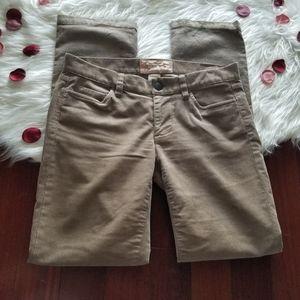 J.Crew matchstick tan corduroy pants